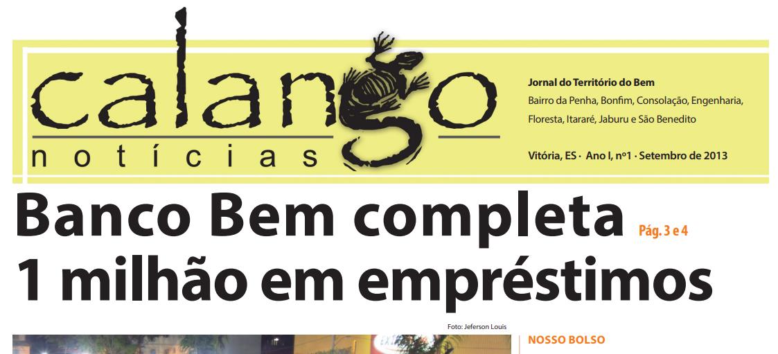 Jornal Calango Notícias